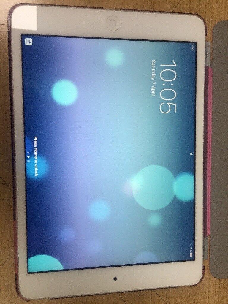 Apple Ipad Mini 2 Retina Display In Silver 16gb Wifi In Perfect