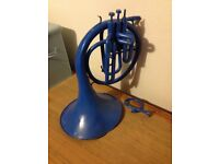 Blue French Horn