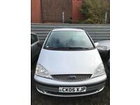 Ford galaxy diesel 1.9 tdi 7 seater family car 5 doors hatchback 2005 05 plate