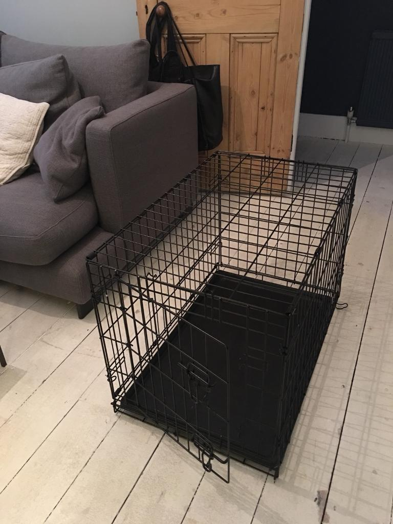 Collapsible small dog/puppy crate