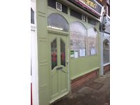 Sandwich Shop/Cafe For Let on busy High Street, Staveley, Chesterfield