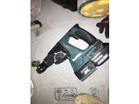 MAKITA DHR242RFJ 18V BRUSHLESS 3 MODE SDS+ HAMMER DRILL X2 Batt (no charger no case)