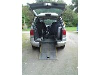 SEAT Alhambra with wheelchair accessible conversion