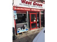Dry Cleaners for sale in Seven-sister north London.