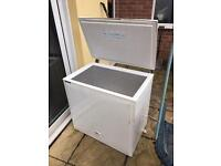 Large fridge over freezes needs monthly scrap.