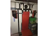 Pec deck with 100kg stack