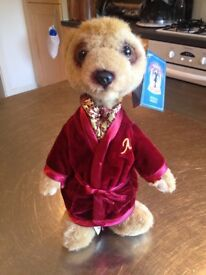 Aleksandr Meerkat from Yakov's Toy Shop, New Boxed with Certificate of Authenticness