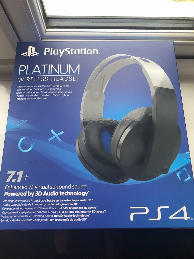 PS4 Platinum Headset