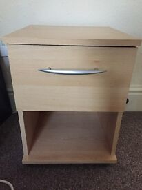 Bedside drawers cabinets