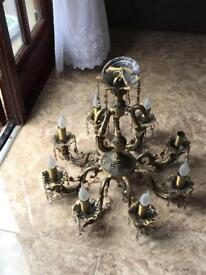 Victorian chandelier £100 for one