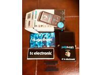 TC Electronics Polytune 2 BLACKLIGHT Guitar Pedal