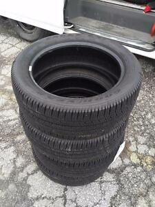 225/50R18 GOODYEAR LS2 H RATED ALL SEASON TIRES * FULL SET * BRAND NEW TAKE OFFS * 225/50R/18 ACURA TLX BMW 3 SERIES