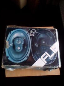 6.9 speakers never been used