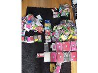 Job lot mobile phone cases 10 x black bags full