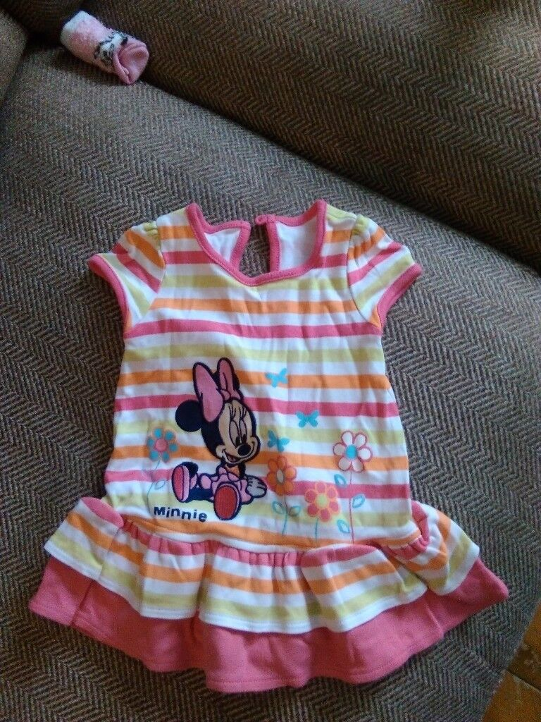 Minnie Mouse ra-ra dress, 0-3 months