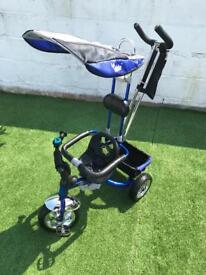 Kiddo Blue Smart Design 4-in-1 Childrens Tricycle Kids Trike 3 Wheel Bike