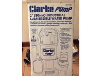 Clarke Heavy duty 110V Water pump.