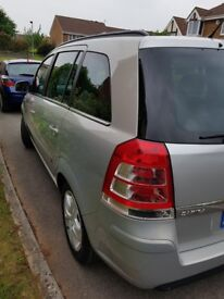 2011 Vauxhall Zafira 1.6 Petrol, air con, very low mileage, immaculate condition