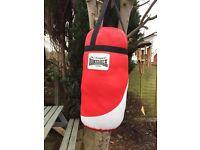 Lonsdale Punch Bag & Gloves