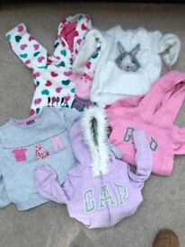 Girls jumpers age 3-4