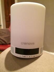 Smart alarm lamp with speaker