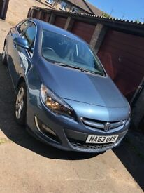 Vauxhall Astra 2014 Automatic Low Mileage
