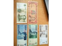 5 Assorted Banknotes from Around the World - Ideal addition or starter for any collection