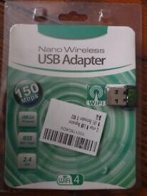 Nano Wireless N USB Wi-Fi Adapter 150Mbps