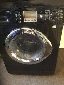 Black Bosch exxcel 1200rpm washing/dryer machine - spares or repairs