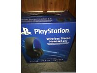 Official Playstation 4 Wireless Headset 2.0