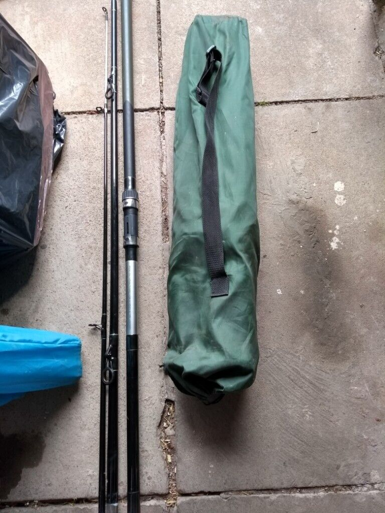Fishing Pole Reel And Chair