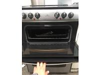 NEW WORLD free Standing Electric Ceramic Cooker 60 cm Width and Stainless Steel In Perfect Working
