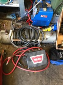 Warn winch spares or repair