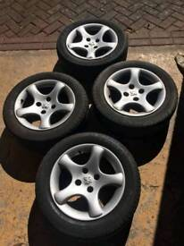 Peugeot Cyclone Alloy Wheels & Tyres