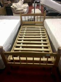 Sigle wooden bed base tcl 15044