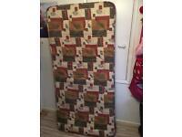 Single sprung mattress £30 ONO