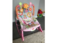 Fisher price musical rocking seat