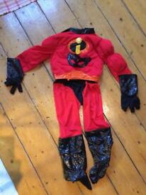 Incredibles outfit fancy dress age 5-6