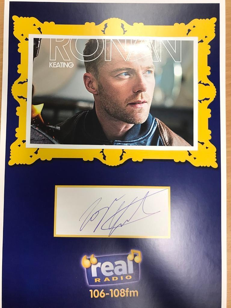 Ronan Keating Signed/Autograph
