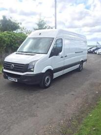 2014 VOLKSWAGEN CRAFTER 2,5 TDI#1 OWNER FROM NEW##