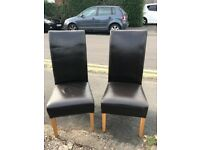 4 x dining room chairs