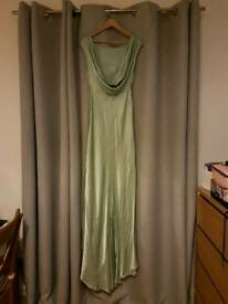 Ghost Salma dress dusty green size small