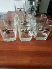 Jack Daniels glass new