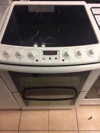 No 3 Zanussi Glasstop Electric Cooker