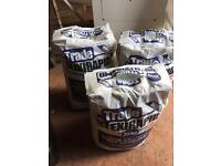 X3 20kg Bags of White Flexible Rapid Tile Adhesive UN-OPENED £25 the Lot