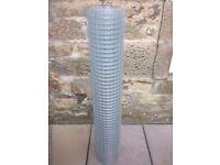 Lightweight galvanized wire mesh 30 meters long, 1.2 meters high