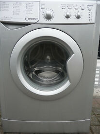 Indesit Washing Machine in Silver - A+ Class - 1400 Spin