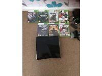 Xbox 360 elite with dr x12 beat headset