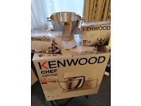 KENWOOD CHEF SENSE WITH ACCESSORIES
