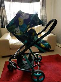 Cosatto woop pushchair nearly new hardley used